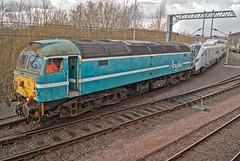 Anglia Railways Class 47 47714 & Hitachi Class 800 800001 (Barry Duffin) Tags: uk england train photography nikon diesel rail railway trains brush locomotive hitachi sulzer class47 type4 olddalby d3000 asfordby 47714 class800 800001