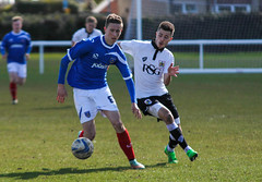 Portsmouth Reserves Vs Bristol City Reserves (Jordan H Photography) Tags: b cup canon bristol football soccer group southern portsmouth third development f28 reserves 70200mm pompey 1100d cityfinal