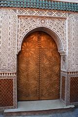 Doors of the medina (JohntheFinn) Tags: africa door unescoworldheritagesite morocco maroc marrakech medina marrakesh marokko afrique highatlas ovi afrikka