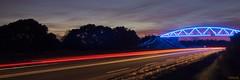 ...Néon Bleu Lumineux... (fredf34) Tags: france rouge pentax bleu explore cap pont capdagde filet nuit ricoh agde k3 languedocroussillon lumineux hérault néon poselongue fredf pentaxk3 ricohpentaxk3 fredfu34