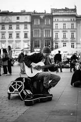 while my guitar gently weeps (Szortas) Tags: street old musician art classic town pentax krakw cracow k5 rynek guitat