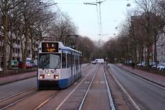 GVB BN tram 903, instructiewagen, Insulindeweg (Don Maskerade) Tags: amsterdam tram bn amsterdamoost gvb 903 insulindeweg instructiewagen trapwagen lestram