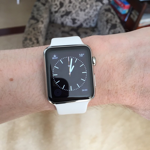 Woo! Apple Watch!