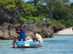 Playing at Wasini Island, Kenya (kris_ontheway) Tags: africa travel kenya wildlife tribes