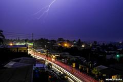 Thunder (worldvespa) Tags: africa night lightning thunder cameroon bamenda stergiosgogos worldvespa aroundtheworldonavespa