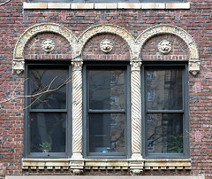 Apartment building (1923), 21 East 10th Street, Greenwich Village, New York