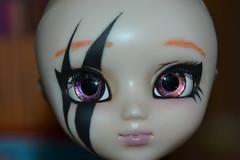 Full Custo Nezumi 04 (DollEmiou) Tags: red eye rouge doll noir full wig demon l pullip custo tatouage obitsu nezumi stica fullcusto pullipstica dollemiou
