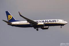 Ryanair --- Boeing 737-800 --- EI-EBR (Drinu C) Tags: plane aircraft aviation sony boeing ryanair dsc 737 mla lmml eiebr hx100v adrianciliaphotography