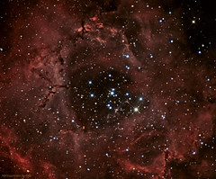 NGC2244 (The Open Custer within the Rosette Nebula) (JRG Astroimages) Tags: cluster ngc opencluster monoceros ngc2244 rosettenebula