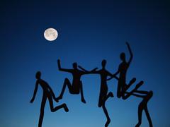 It's a marvelous night for a Moondance.... (kenny barker) Tags: moon night scotland explore moondance springi kennybarker
