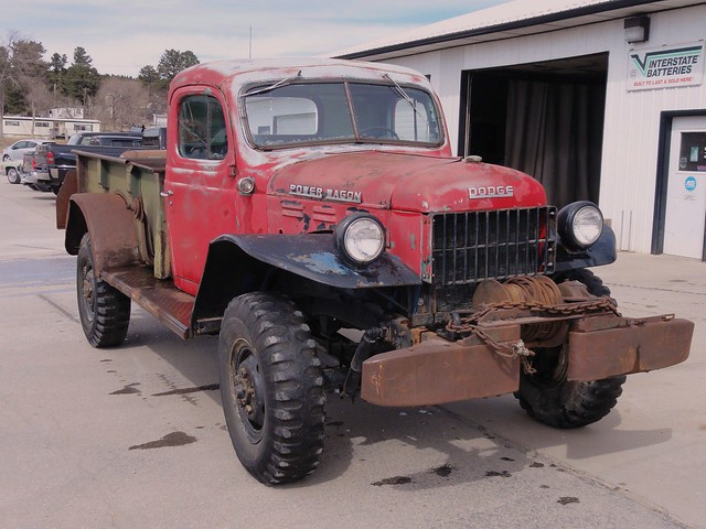truck 4x4 dodge powerwagon wm300 w300m
