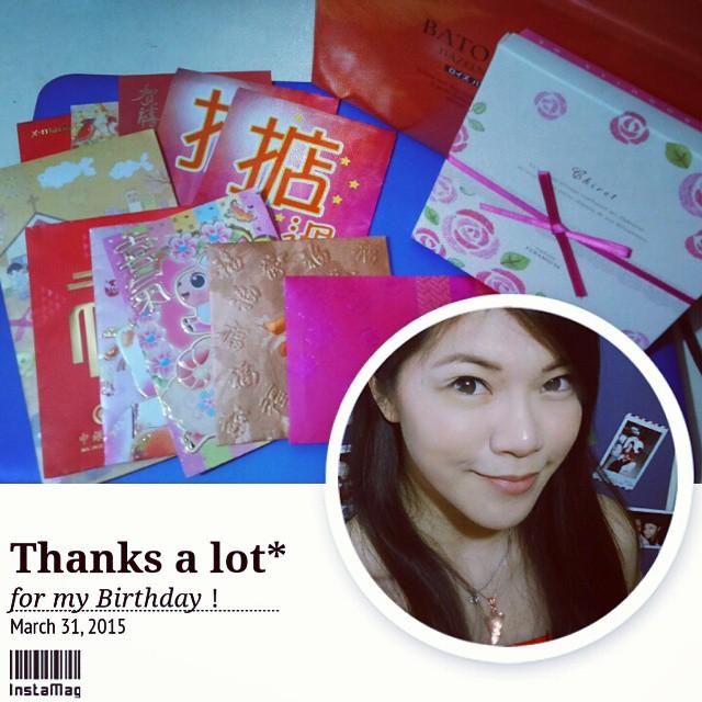 多謝!!!😄 今個正日生日都好滿足呀!😊 THANKS all for my Birthday! 🌟 #浠渝 ✨ 🌟 🌟✨#Cheryl🌟 🌟 #희우 ✨🌟 🌟#ヘイユー🌟