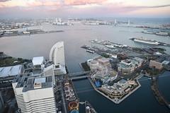 | Yokohama Landmark Tower Sky Garden (Iyhon Chiu) Tags: city tower japan landmark d750  yokohama   skygarden observationdeck sakuragicho  2014  minatomirai21     21 21     nikond750