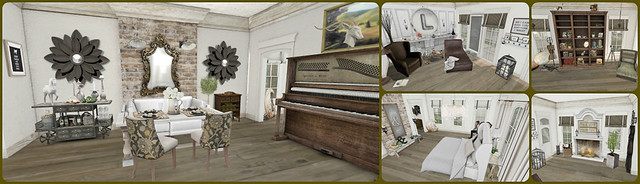 house home living mesh rustic secondlife decorating decor shabbychic