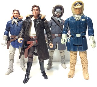 So it's true Han Solo's Hoth coat was brown not blue.