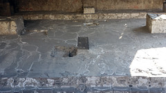 Sacrificial stone, Huitzilopochtli Temple platform, Templo Mayor