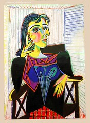 The renewed Picasso Museum, Paris (Portrait of Dora Maar) (jackfre2) Tags: portrait paris france art modernart paintings picasso picassomuseum doramaar hotelsal portraitofdoramaar