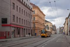 150405_Brno_348 (Rainer Spath) Tags: trolley tram tschechischerepublik brno czechrepublic trams tramway südmähren brünn českárepublika strasenbahn šalina dpmb jihomoravskýkraj dopravnípodnikměstabrna republiktschechien