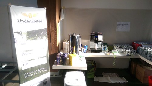 Kaffee-Bar mit Lindenkaffee
