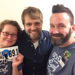 Julie & Bradley with @joshwilsonmusic at the @castingcrownsofficial #thrivetour!   #live #Christian #music #concert #radio #NOLA #COTK #Mandeville #LifeSongsFM #GodIsGoodAllTheTime