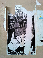 Paris 2015 (Hanoi1933) Tags: france ecology airport politics government rue politique parigi ecowarrior 2015 écologie 巴黎 パリ parisstreetart париж ayrault notredamedeslandes pariswallart