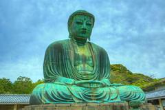 Kamakura Great Buddha  10 (joezhou98) Tags: japan buddha kamakura great zen hdr