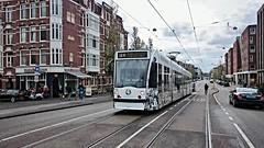 """Asje niet stopt, kjje niet stilstaan"" (Peter ( phonepics only) Eijkman) Tags: city holland netherlands amsterdam transport nederland tram rail rails trams strassenbahn noordholland gvb streetcars combino nederlandse"