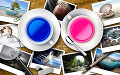 Atelier2 Flickr (Atelier 2) Tags: azul photoshop flickr arte fotos montagem manipulao atelier2