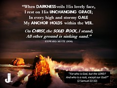 On Christ The Solid Rock I Stand - Edward Mote (pastorjoshmw) Tags: rock other sand all christ ground edward hymn sinking solid mote