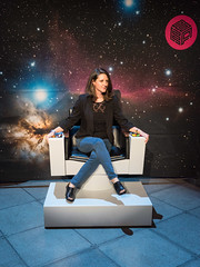 Landing_Party_Command_Chair_Photo_Booth-1140085 (EMP Museum) Tags: startrek photobooth exhibit emp skychurch exhibitopening empmuseum commandchair photobynatseymour betechnicalgraphics