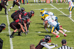 GFL-2016-Panther-9851.jpg (sgh-fotos) Tags: football nfl bowl german panthers sack dsseldorf touchdown defence invaders hildesheim dline fumble gfl amarican quaterback oline interception ofence