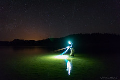 Changing Flies under the stars (john.c.arnold) Tags: night stars fishing spey slies mccune
