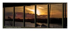 Shedload of sunsets (frattonparker) Tags: sunset reflections raw shed canoes isleofwight newtown nikond600 tamron90mmmacro11 btonner frattonparker adoberaw9
