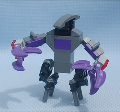 Daemon 1 (Mantis.King) Tags: lego scifi futuristic mecha mech moc microscale mechaton mfz mf0 mobileframezero