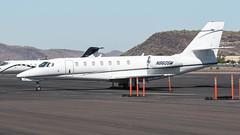 Cessna 680 Citation Sovereign N860SM (ChrisK48) Tags: airplane aircraft 2008 dvt phoenixaz kdvt cessna680 citationsovereign phoenixdeervalleyairport n860sm
