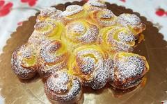 Ricetta Torta di Rose con Crema Pasticcera senza Uova! (RicetteItalia) Tags: veg dolci torte senza ricette