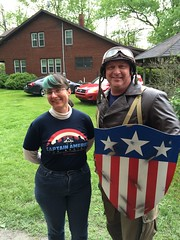 """Tracey and Captain America • <a style=""""font-size:0.8em;"""" href=""""http://www.flickr.com/photos/28558260@N04/27022993301/"""" target=""""_blank"""">View on Flickr</a>"""