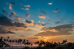 365:365 As The Sun Sets (Woodlands Photog) Tags: sunset clouds hawaii coast kona waikoloa