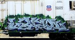 wyze (timetomakethepasta) Tags: wyze stc isb freight train graffiti armn reefer union pacific