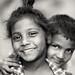 Happy children, India