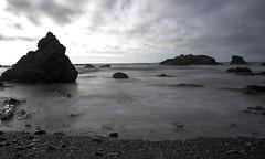 Long Exposure Beach (dcnelson1898) Tags: california northerncalifornia outdoors photography coast nikon highway1 pacificocean fortbragg mackerricherstatepark mendocinocounty
