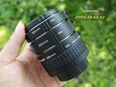 Kenko Auto AF Extension Tube for Canon/Nikon (sgear.gallery) Tags: canon nikon af autofocus kenko autoextensiontube sgearvn