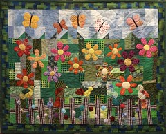 naomi's garden: a baby quilt for a new baby. (judy_and_ed) Tags: quilt babyquilt