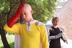IMG_0002 (firecloak) Tags: male cosplay hero superhero cyborg opm akon genos onepunchman