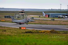 Jet 4 (CraigAllanPhotography) Tags: island airport stag wildlife jets hunting scenic deer planes deers isleoflewis freerange stags stornoway fighterjet landings italianmilitary wildlifestag