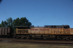 53557 (richiekennedy56) Tags: usa lawrence unitedstates kansas unionpacific ac44cw railphotos up5766 donballcurve