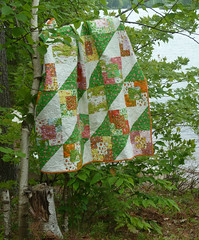 Strawberry Fields On the Lake (alidiza) Tags: quilt patchwork briarrose heatherross