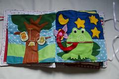 Quiet Book (3) (La Nana Handmade *Fabiola*) Tags: quiet book busy attivit children baby fabric activity sensory sensoriale preschooer asilo scuola materna