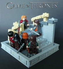 Game of Thrones-Tyrion Lannister-Part3 (KevFett2011) Tags: 2 season lego 9 series blackwater vignette hbo episode moc 12x12 tyrion gameofthrones lannister kevfett2011