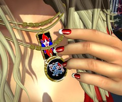 Already Hammered (lauragenia.viper) Tags: lorien lusciousdelights revamped zoz nailpolish necklace 4thofjuly secondlifefashion